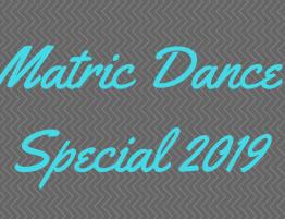 Matric dance glam special 2019